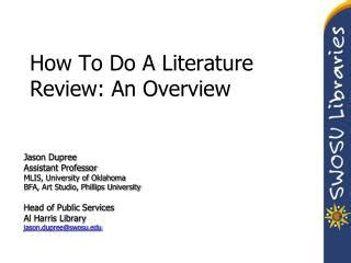 Review of Related Literature to Reading Comprehension
